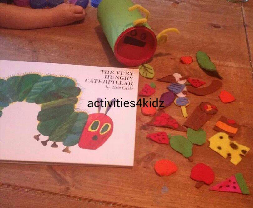 The Very Hungry Caterpillar Feeding The Caterpillar